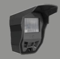 Caméra de surveillance de chantier